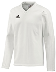 2020 adidas Long Sleeved Cricket Sweat