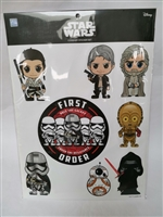 HOT TOYS COSBABY STAR WARS STICKER SETS