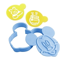 MICKEY, WINNIE, DINO COOKIE CUTTERS