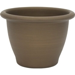 16-inch Snap-Fit Poly Planter in Antique Bronze Finish