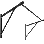 Iron Wall Mounted Sturdy Home Gym Fitness Workout Pull-Up Chin Up Bar