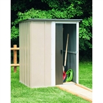 Outdoor Lawn Garden Tool Storage Shed - 3.5-Ft x 4.5-Ft