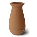65 Gallon Urn Style Rain Barrel in Terra Cotta