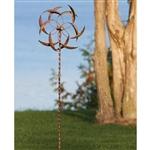 户外庭院花园用镀铜金属风微调器