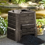 Home Garden Composter - 86 Gallon Compost Bin with Locking Self-Watering Lid