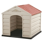 Sturdy Outdoor Waterproof Small Breed Dog House