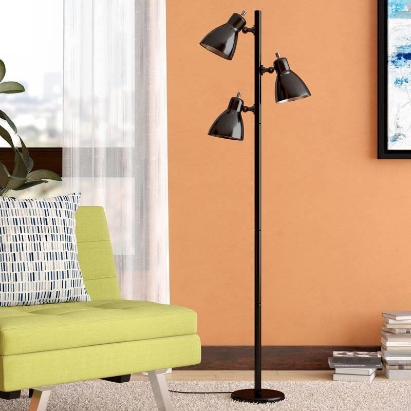 65 inch black 3 light tree lamp spotlight floor lamp retail price 9900 aloadofball Choice Image