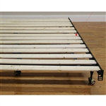 Twin size Heavy Duty Wooden Bed Slats - Made in USA