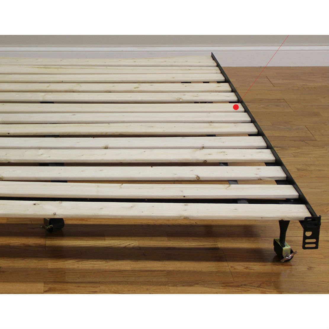Twin Size Heavy Duty Wooden Bed Slats Made In Usa Fastfurnishings Com