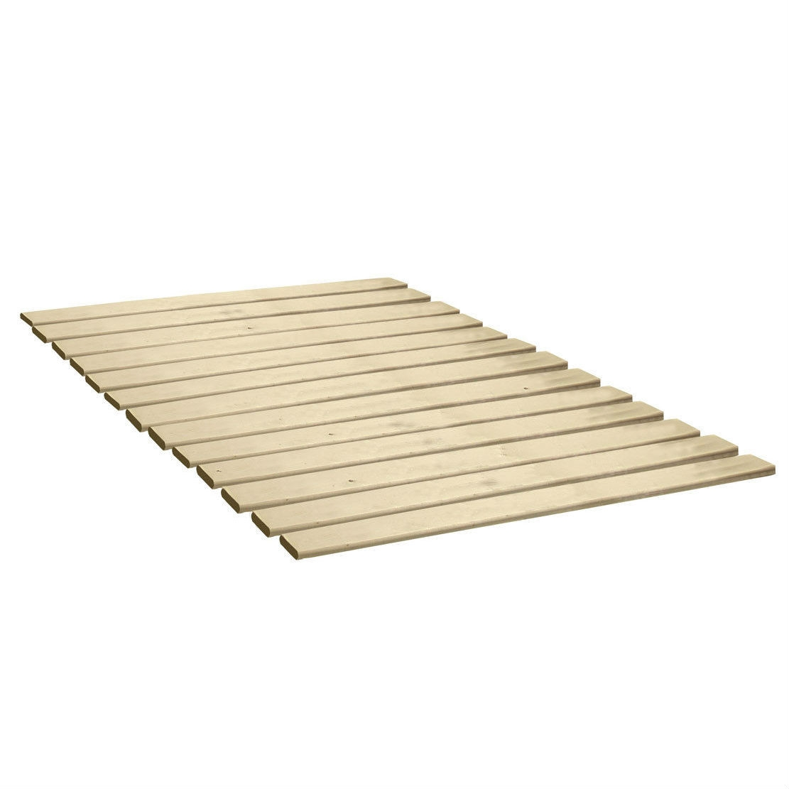 Twin Size Heavy Duty Wooden Bed Slats Made In Usa