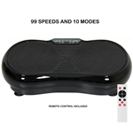 Black Full Body 99 Speed Oscillating Vibration Platform