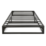 Twin size Modern Low Profile Heavy Duty Metal Platform Bed Frame