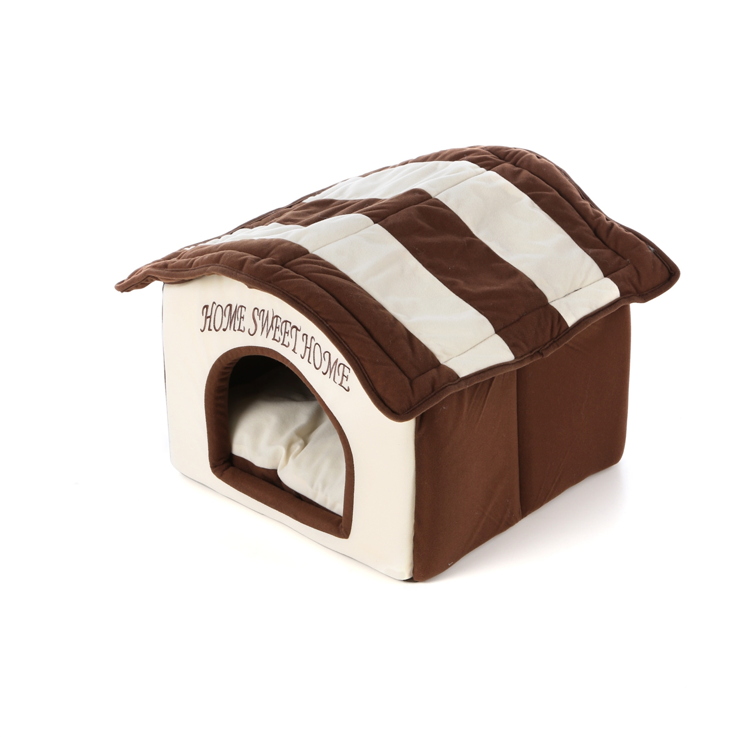 Home Sweet Home Dog Dome Dog Bed - Machine Washable ...