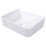 现代英寸矩形陶瓷盆洗手盆