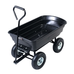 Black Wagon Heavy Duty Dump Cart Dumper
