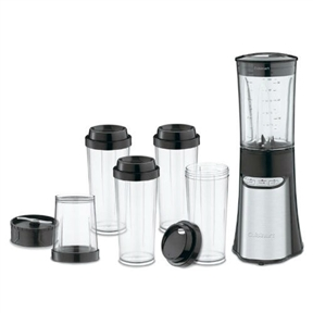 15-Piece Compact Portable Personal Blender Food Chopper in Black