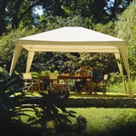 12Ft x 10Ft Folding Gazebo with Carry Bag in Camel