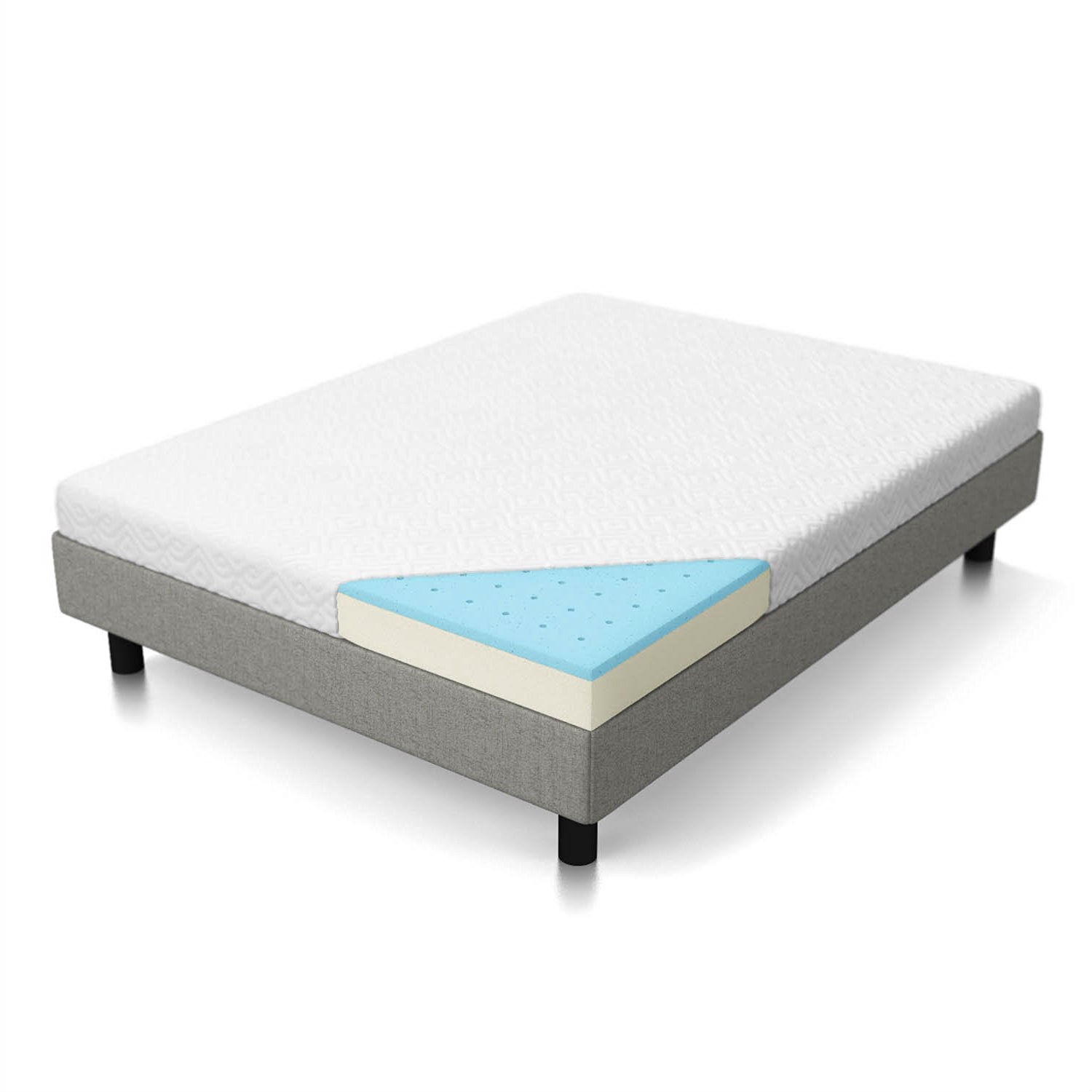 california king 5 inch firm gel memory foam mattress - California King Memory Foam Mattress
