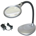 LED Illuminated 2X Magnifying Glass / Desk Lamp