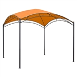10Ft x 10Ft Dome Top Gazebo  Bronze Terra Cotta
