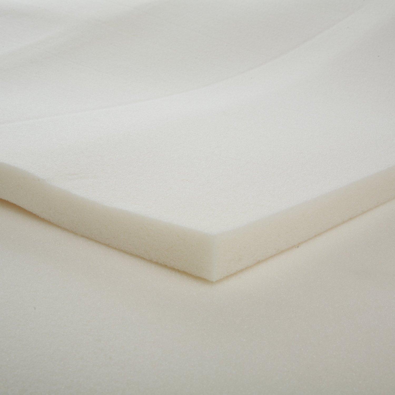 Twin Xl 1 Inch Thick Memory Foam Mattress Topper Made In Usa