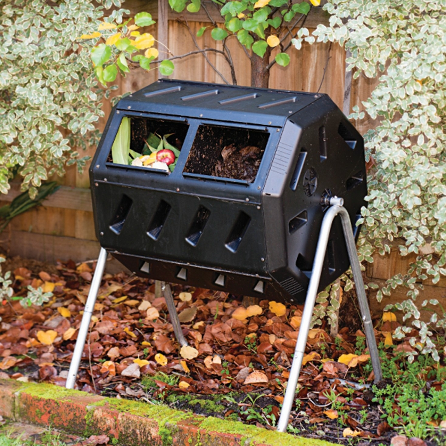 37-Gallon Tumbling Compost Bin Tumbler Composter - 5 Cu. Ft. - 37-Gallon Tumbling Compost Bin Tumbler Composter - 5 Cu. Ft