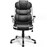 Black High Back Executive Swivel Office Chair