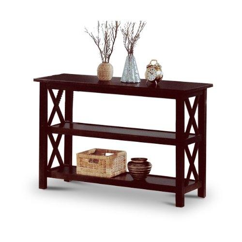 Cuccino Wood Sofa Table Bookshelf