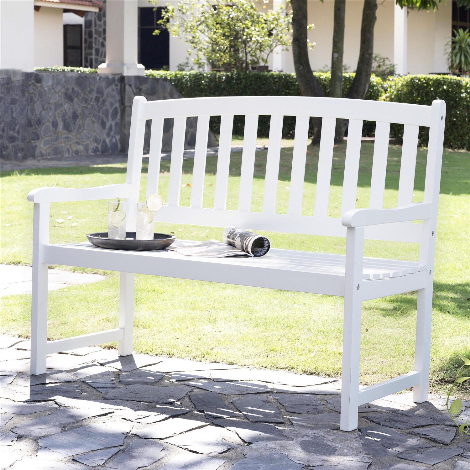 dining cream today olive garden buy palissade hay bench white utility online