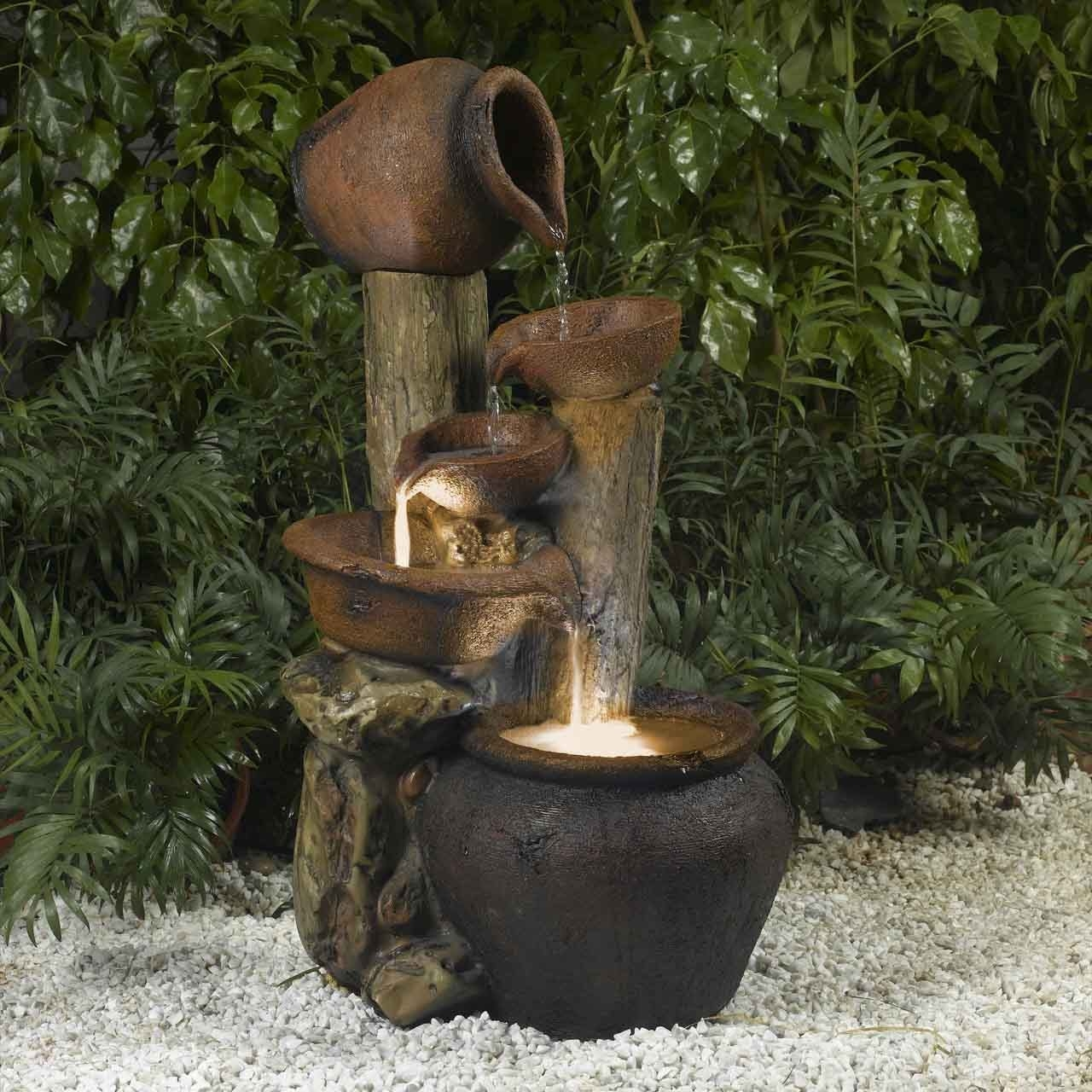 Home Decor Fountains Indoor home decor tabletop falls rock water
