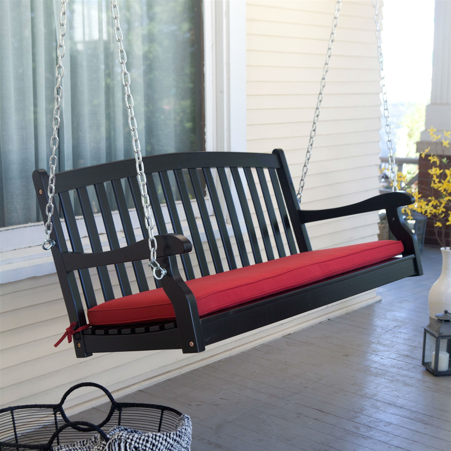 jbeedesigns image porch swing hardware springs an of hangers awesome outdoor metal