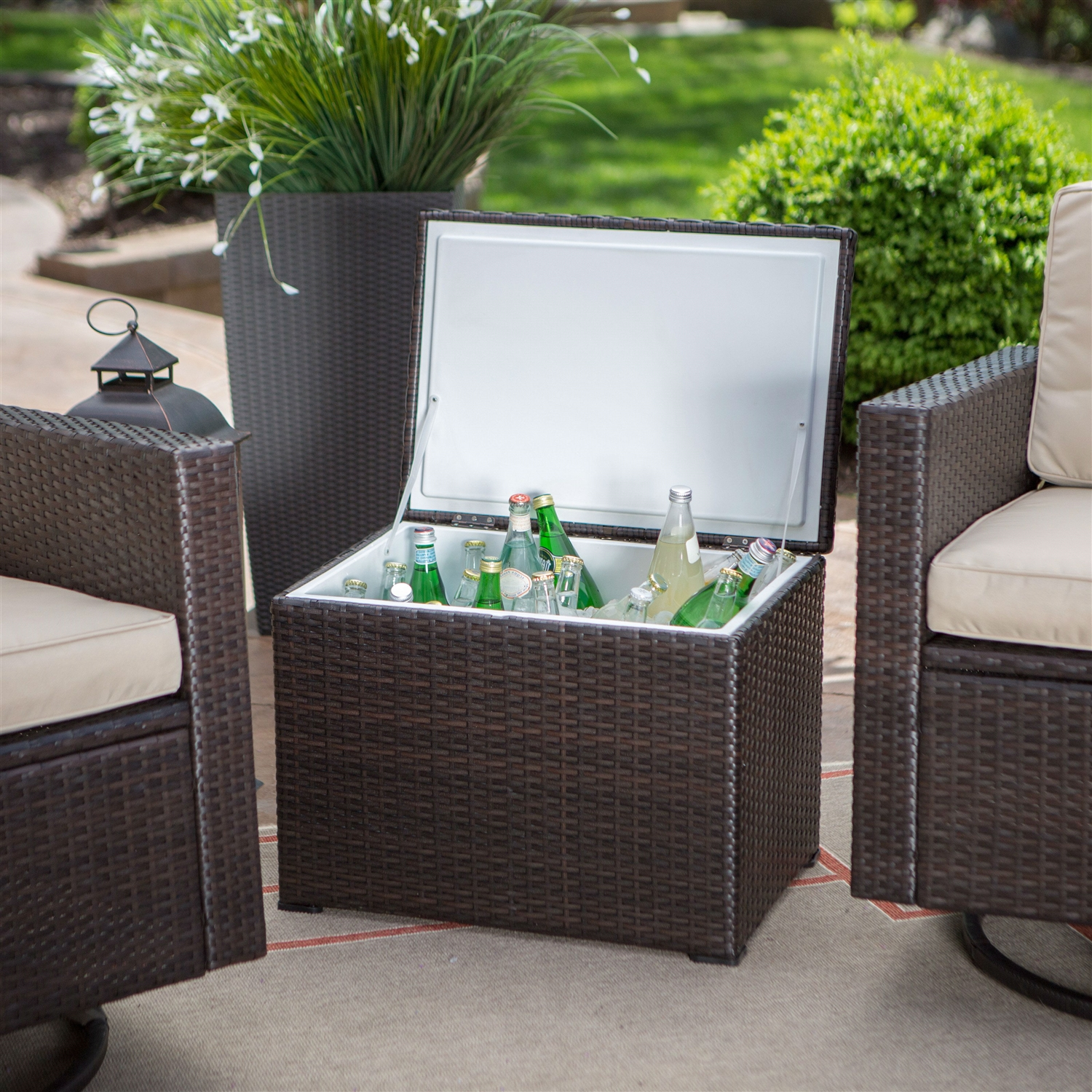 Piece Patio Furniture Set With 2 Chairs