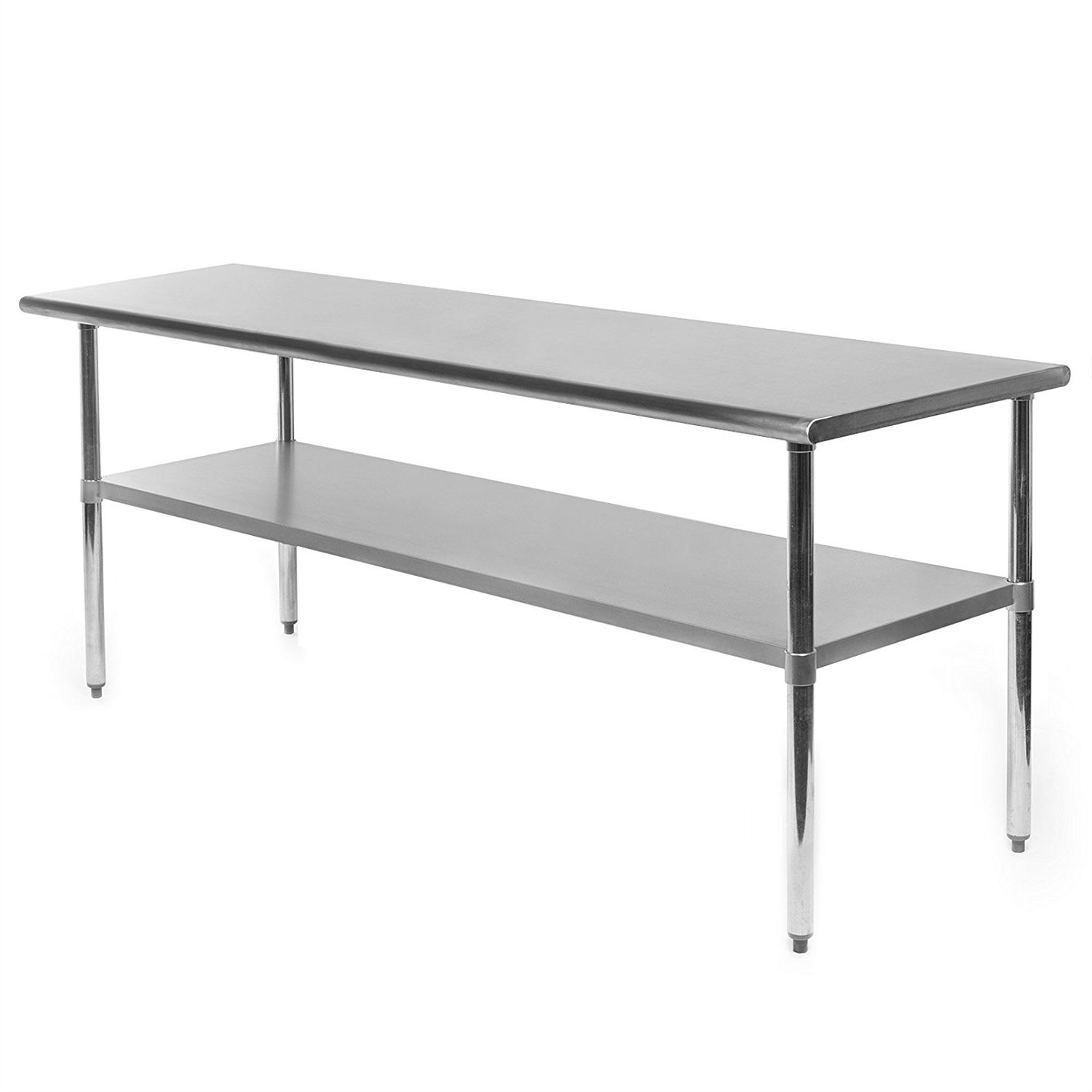 heavy duty 72 x 24 inch stainless steel kitchen restaurant prep work table. beautiful ideas. Home Design Ideas