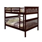 卡布奇诺风格全实木双层床