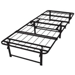 Twin-size Duramatic Steel Folding Metal Platform Bed Frame