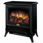 黑色紧凑型炉灶式电壁炉空间加热器