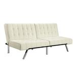 香草分叉式多位置蒲团沙发床