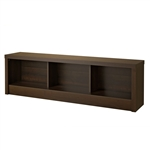 Bedroom Storage Bench Footboard in Espresso Wood Finish