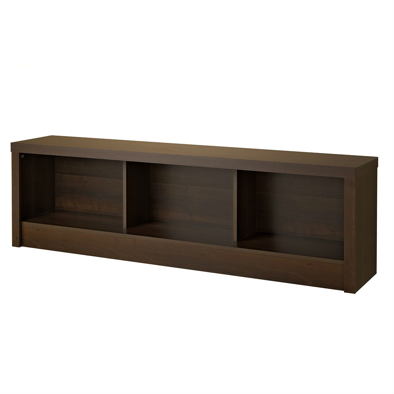 Bedroom Storage Bench Footboard in Espresso Wood Finish