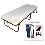 Deluxe Space Saving Rollaway Bed - Folding Bed
