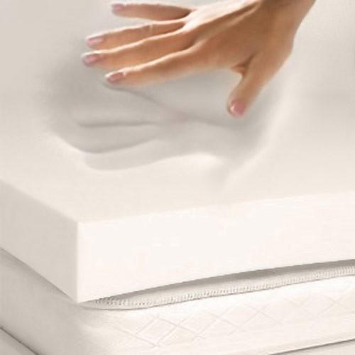 Twin size 3 in thick 4 lb Memory Foam Mattress Topper Mattress Pad