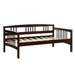 不包括Espresso Wood Finish Trundle的双床大床