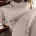 Full size 1500 Thread Count Microfiber Sheet Set in Beige
