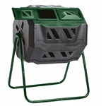 Outdoor 43-Gallon Compost Bin Tumbler for Home Garden Composting