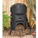 Heavy Duty 16.4 cubic ft. Soil-maker Compost Bin with 3 Chamber Composter Design