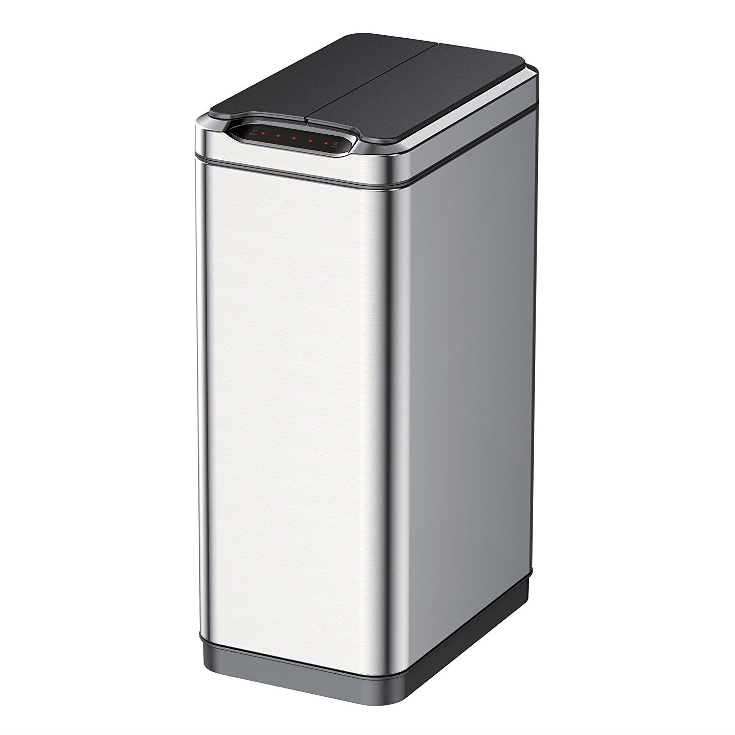 Stainless Steel 13 Gallon Touchless Motion Sensor Kitchen Trash Can