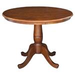 圆形英寸底座咖啡桌