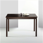 Classic 45 x 28 inch Wooden Dining Table in Espresso Finish