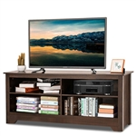 Contemporary TV Stand for up to 60-inch TV in Espresso Finish