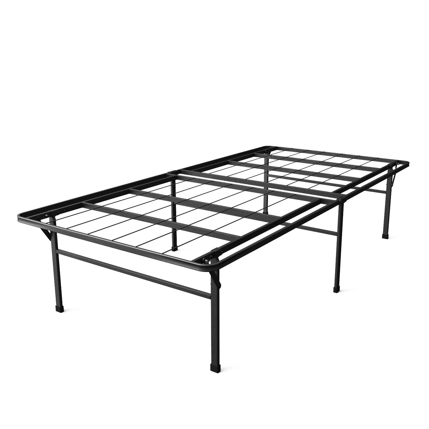 Modern High Bed Frame Style